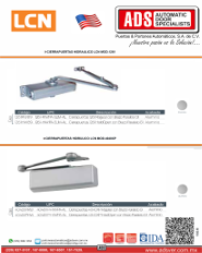 Allegion, LCN, Catalogo LCN