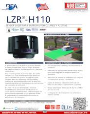 Catalogo BEA Escaner Laser para Portones y Barreras LZR H110