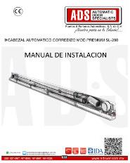 Cabezal Automatico Corredizo MOD.PREMIUM SL-280