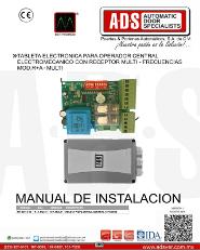 Manual de Instalacion de Sello para Acceso de Anden, ADS Puertas & Portones Automaticos S.A. de C.V.