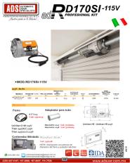 Cátalogo Abrepuertas de Garage RD170SI-115V, Puertas y Portones Automaticos S.A. de C.V.