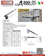 Cátalogo Abrepuertas de SD300-110V.pdf, Puertas y Portones Automaticos S.A. de C.V.