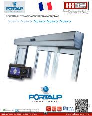 PORTALP, PUERTA AUTOMATICA CORREDIZA MOD.DIVA5, ADS Puertas & Portones Automaticos S.A. de C.V.