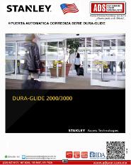 Catalogo Stanley Puerta Automatica Corrediza Serie DURA-GLIDE