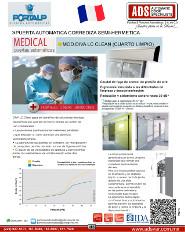 PORTALP, Catalogo Puerta Automatica Corrediza Semi-Hermetica MOD.DIVA LC CLEAN (CUARTO LIMPIO)