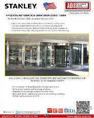Catalogo Stanley Puerta Automatica Giratoria Serie 1500A