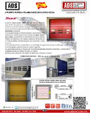 Puerta Rapida Apilable MOD.SDAN/GRAN SDAN, Puertas y Portones Automaticos S.A. de C.V.