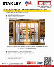 Catalogo Stanley Puerta Automatica Telescopica DURAMAX Serie 5400