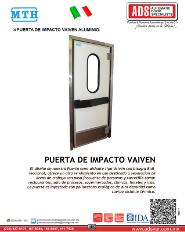 FerroFrio, Perfiles Sanitarios de Camara Frigorifica , ADS Puertas & Portones Automaticos S.A. de C.V.