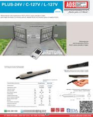 PLUS-24V_C-127V_L-127V.pdf, PLUS-24V_C-127V_L-127V.pdf, Catalogo PLUS-24V_C-127V_L-127V, ADS, ADS ALLMATIC, Puertas y Portones Automaticos S.A. de C.V.