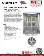 Catalogo Stanley Puerta Manual Giratoria Serie 500