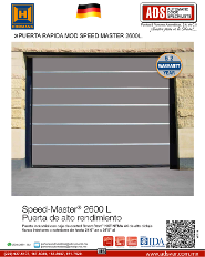Puerta Rapida MOD.SPEED-MASTER Serie 4600 L