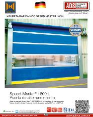 PortalP, PUERTA RAPIDA MOD.SPEED MASTER 1600L, Puertas y Portones Automaticos S.A. de C.V.