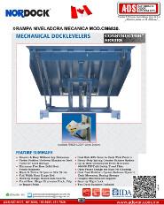 Nordock, Rampa Niveladora Mecanica MOD.CM6830, Puertas y Portones Automaticos S.A. de C.V.