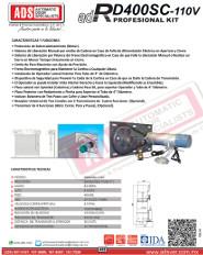 Cátalogo Abrepuertas de RD400SC-110V.pdf, Puertas y Portones Automaticos S.A. de C.V.