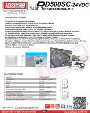 Cátalogo Abrepuertas de RD500SC-24VDC.pdf, Puertas y Portones Automaticos S.A. de C.V.
