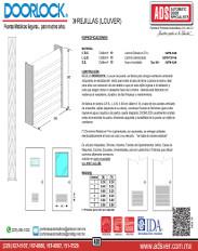 Doorlock Rejillas(Louver)