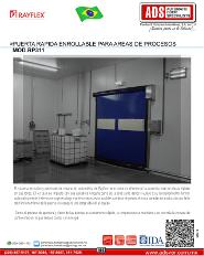 Rayflex Puerta Rapida Enrollable para Areas de Proceso MOD.RP311