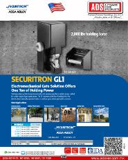 Securitron Chapa Electrica Ind. MOD.GL1