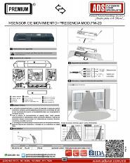 Sensor de Movimiento+Presencia MOD.PM-29