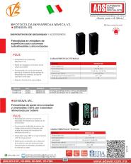 Dispositivos de Seguridad y Accesorios, Fotoceldas, Sensiva-XS-WL.pdf