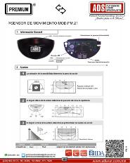 Sensor de Movimiento MOD.PM-21