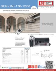 Cátalogo SERUNI-170-230V.pdf, SERUNI-170-230V.pdf, ADS ALLMATIC, Puertas y Portones Automaticos S.A. de C.V.