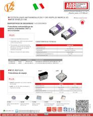 Dispositivos de Seguridad y Accesorios, Fotoceldas Antivandalicas, Shield-180/Reflex