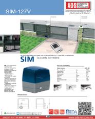 Cátalogo SIM-127V, SIM-127V.pdf, Catalogo IDR1-IDR2-IDR3-127V, ADS, ADS ALLMATIC, Puertas y Portones Automaticos S.A. de C.V.