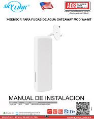 Catalogo SKYLINK SENSOR PARA APERTURA DE PUERTA O VENTANA GATEWAY MOD.WD-MT, ADS Puertas & Portones Automaticos
