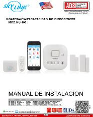 Catalogo SKYLINK Gateway Wifi Capacidad 100 Dispositivos MOD.HU-100, ADS Puertas & Portones Automaticos