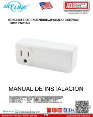 Catalogo SKYLINK ENCHUFE DE ENCENDIDO-APAGADO GATEWAY MOD.PM318-2, ADS Puertas & Portones Automaticos