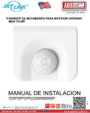 SENSOR DE MOVIMIENTO PARA INTERIOR GATEWAY MOD.PS-MT, ADS Puertas & Portones Automaticos S.A. de C.V.