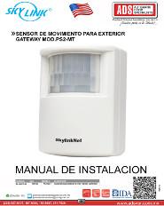 SENSOR DE MOVIMIENTO PARA EXTERIOR GATEWAY MOD.PS2-MT, ADS Puertas & Portones Automaticos