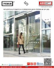 Puerta Automatica Corrediza MOD.PREMIUM SP-280