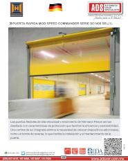 Puertas Rapidas MOD.SPEED-COMMANDER Serie 1400 SE, Puertas y Portones Automaticos S.A. de C.V.