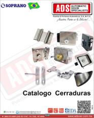 Catalogo Cerraduras Soprano, ADS Puertas y Portones Automaticos S.A. de C.V.
