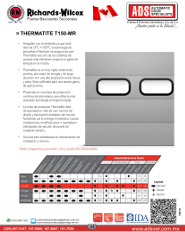 Richards-Wilcox Portón Insulado 1.5 MOD.T150
