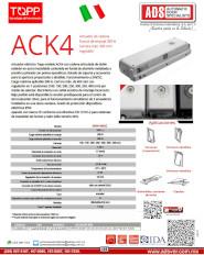 Topp, Actuador de Cadena ACK4, ADS Puertas & Portones Automaticos S.A. de C.V.