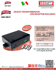 Catalogo Tranformador con Receptor Phillips
