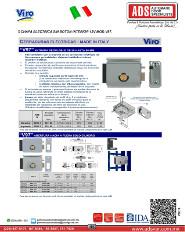 Viro CERRADURAS ELÉCTRICAS ENTRADA REGULABLE DE 50 HASTA 80 MM.pdf