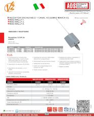 ADS Cátalogos V2, ADS V2 Receptor WALLY, WALLY.pdf,Puertas y Portones Automaticos S.A. de C.V.