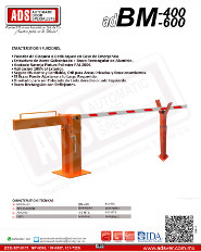 Cátalogo Abrepuertas de Garage adBM-400-600, Puertas y Portones Automaticos S.A. de C.V.