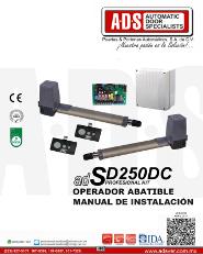 Manual de Instalacion, Manual de Instalacion Abrepuertas de Garage SD250DC, Puertas y Portones Automaticos S.A. de C.V.