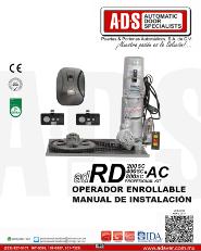 Manual de Instalacion, Manual de Instalacion Abrepuertas de Garage RD200AC.pdf, Puertas y Portones Automaticos S.A. de C.V.