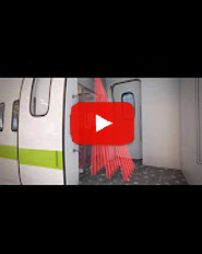 Video RS15 Opening & presence sensors for internal railway doors