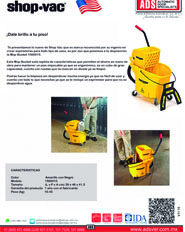 Shop-Vac Trapeador Mop Bucket