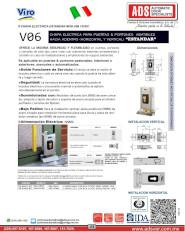 Viro Chapa Electrica  MOD.V06 12VDC