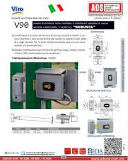 Viro Chapa Electrica MOD.V90 12VDC