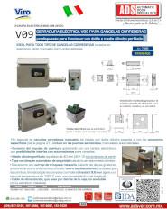 Viro Chapa Electrica MOD.V09 24VDC